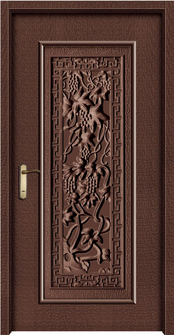 1047鍍鋅中肚浮雕板門