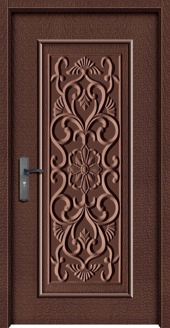 1048鍍鋅中肚浮雕板門