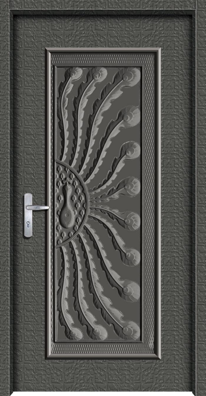 1049鍍鋅中肚浮雕板門