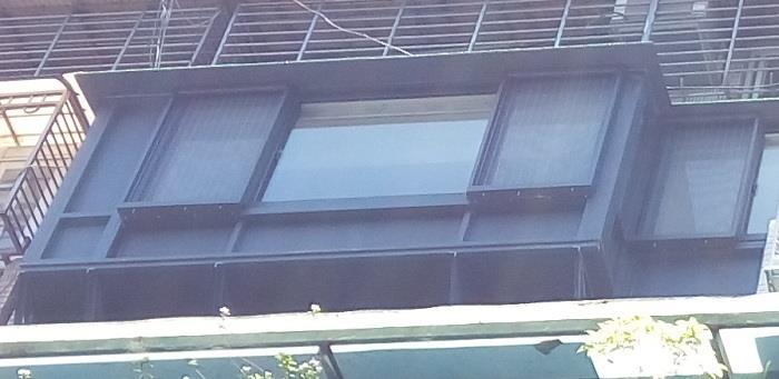 隱形鐵窗-外凸窗