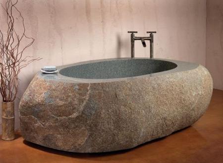 43-安山岩浴缸