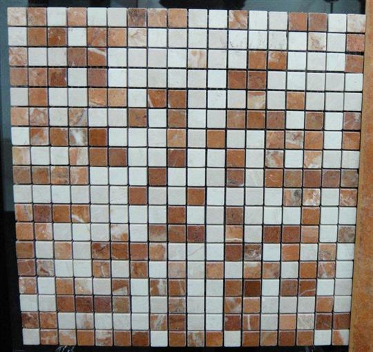 50-石材馬賽克-珊瑚紅n米