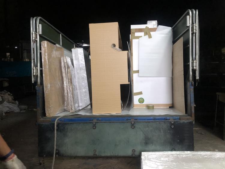 夜間運送 三創系統櫃