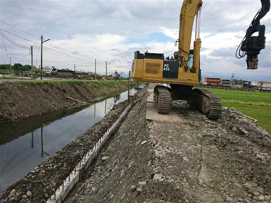 水泥基樁排樁工程
