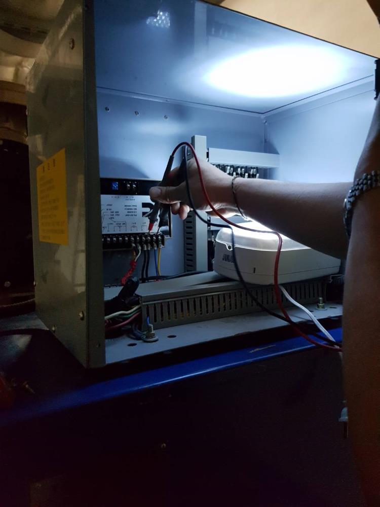 發電機大保養檢測控制系統