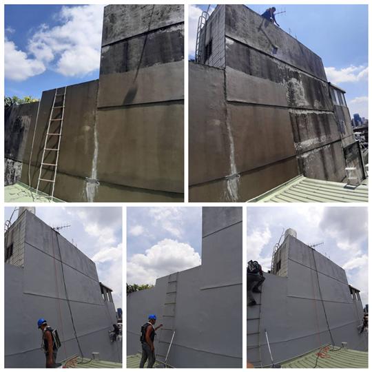 外牆壓克力防水