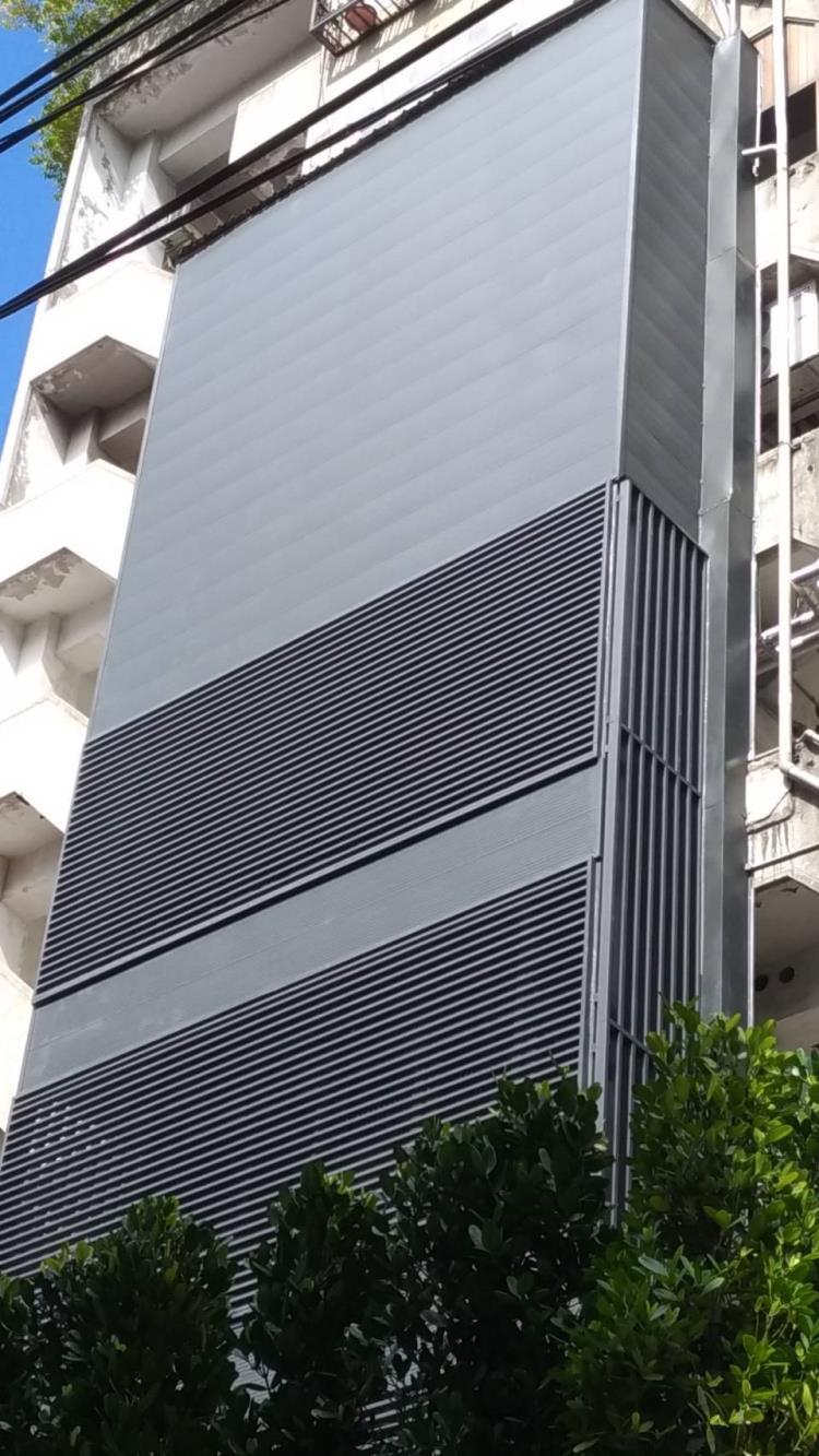外牆包板及格柵