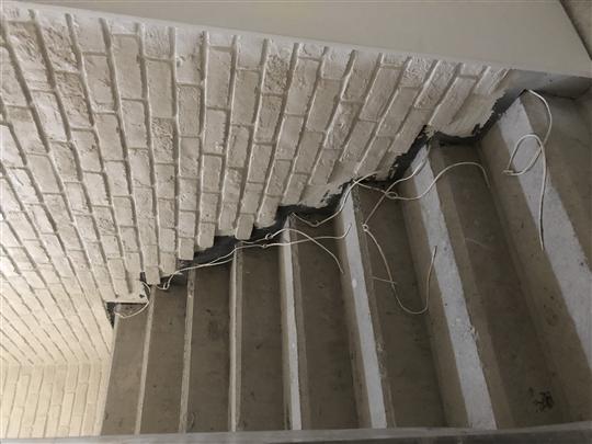 白色磚型人造石