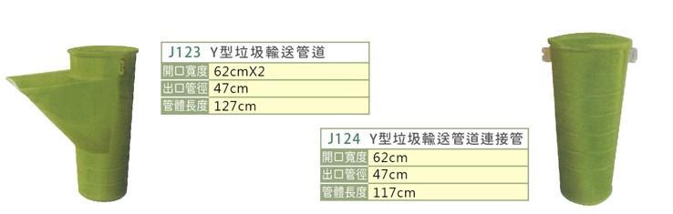 垃圾輸送管道--J123/J124