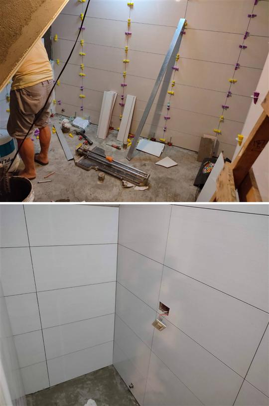 浴廁壁磚工程