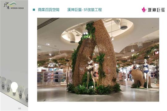 漢神巨蛋-5F商場改裝工程