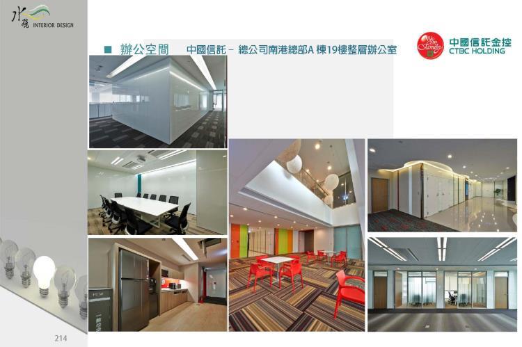 中國信託南港總部A棟19樓