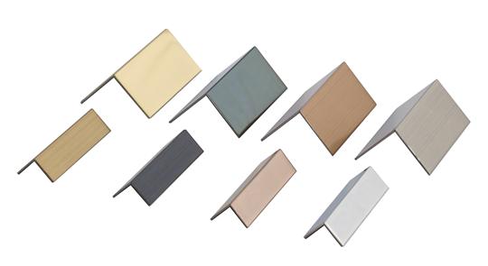 不銹鋼鍍鈦L型收邊條