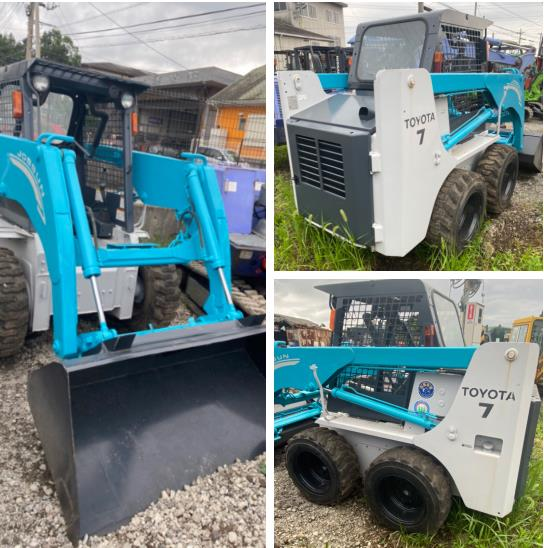 8-鏟土機USED TOYOTO SKID STEER LOADER MODEL:4SDK7 S/N:10118(已售出)