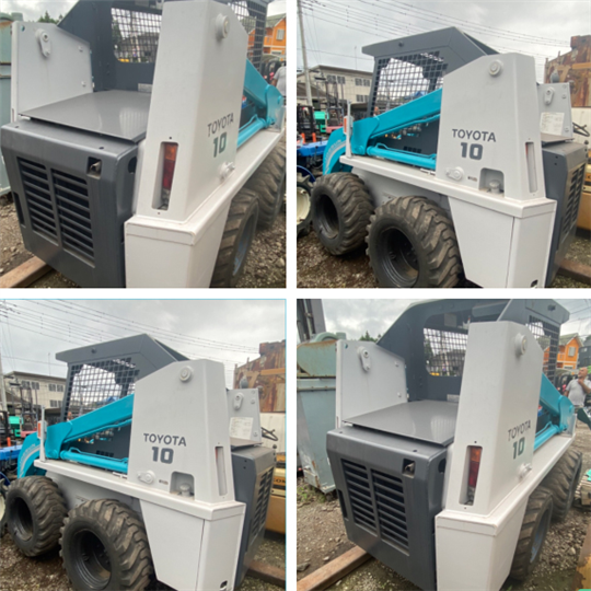 15-USED TOYOTO SKID STEER LOADER MODEL:4SDK10 S/N:52030(已售出)