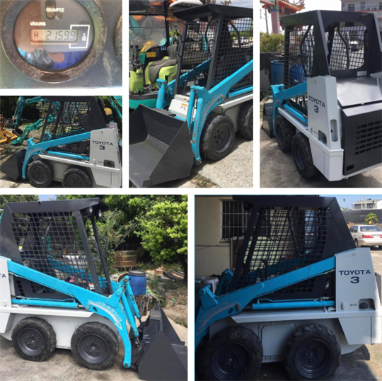 20-USED TOYOTA SKID STEER LOADER MODEL:4SDK3 S/N :10174(已售出)