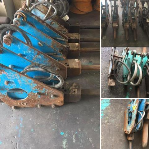27-TOKU BREAKER 3M 5台30級 TOKU BREAKER 2M 3台 20級 TOYO BREAKER THBB71 1台20級