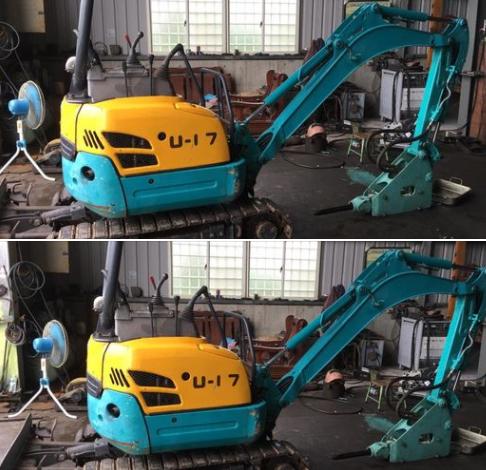 33-Mini excavator KUBOTA U-17(已售出)