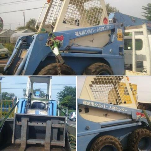 42-USED SKID STEER LOADER TCM 604(已售出)