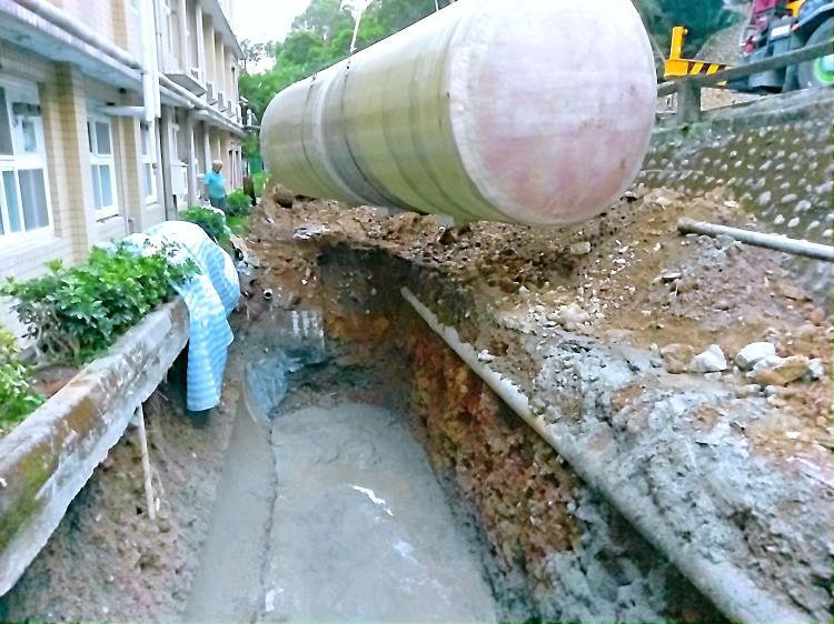 明志科技大學校區污水化糞池改善工程