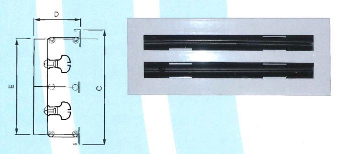 25- 線槽出風口 ZX-SUU