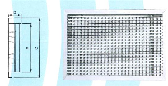 26- 線型格柵出風口 ZX-GL
