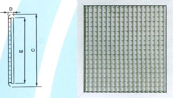 27- 格子型回風口 ZX-GE