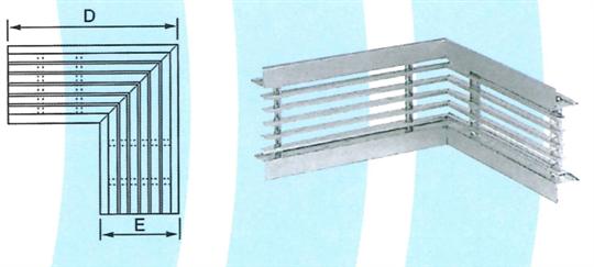 30- 直角線型風口 ZX-ZLA