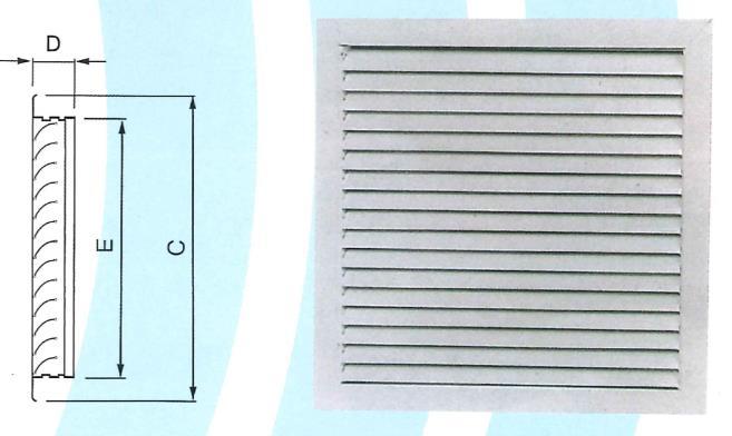 38- 弧葉式百葉回風口 ZX-BJ