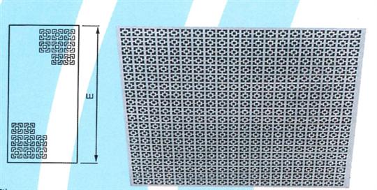39- 方格型回風花板 ZX-HA1