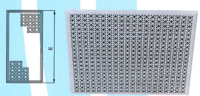 40- 菱型回風花板 ZX-HA