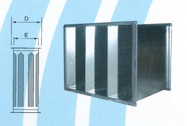50- 風管型消音箱 ZX-CEV