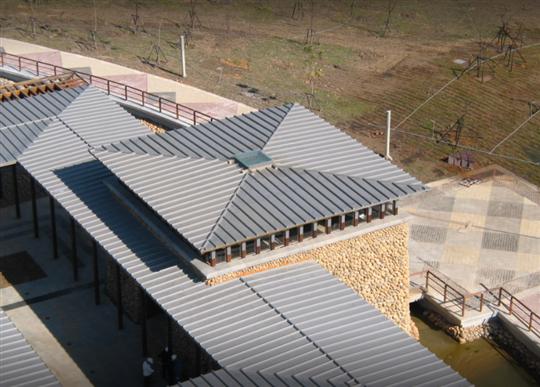 16- 中部科學院區屋頂鈦鋅板工程