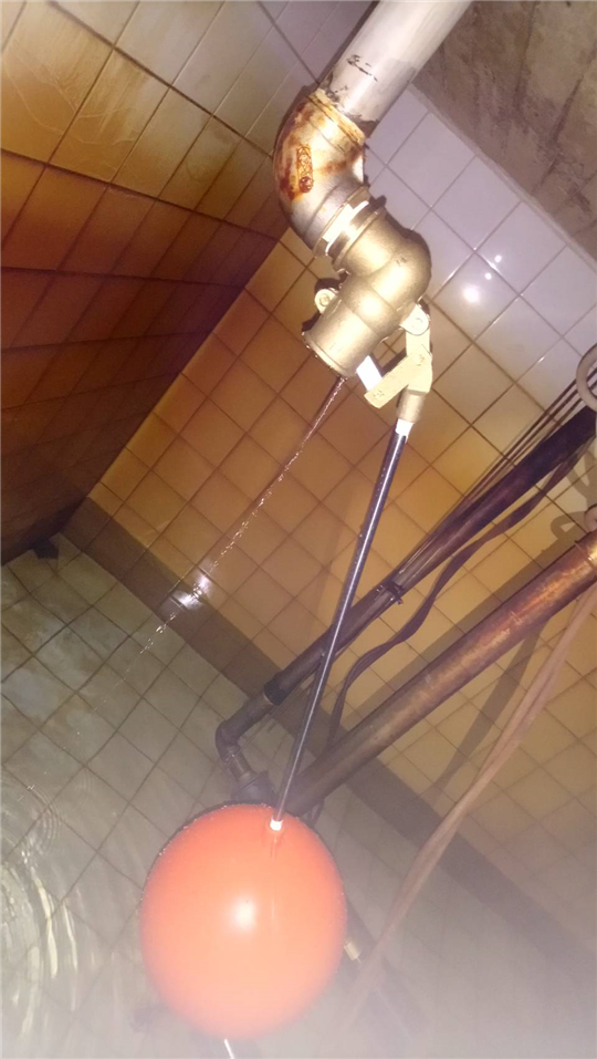 更新地下室揚水池浮球整組系統