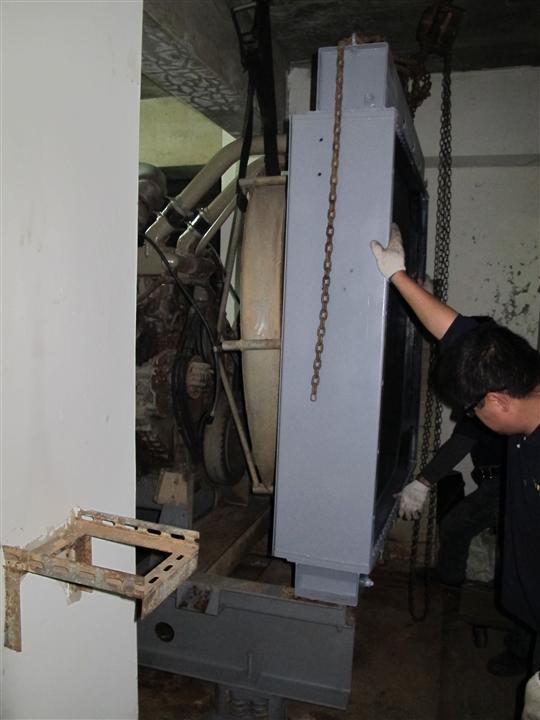 發電機漏水更新工程