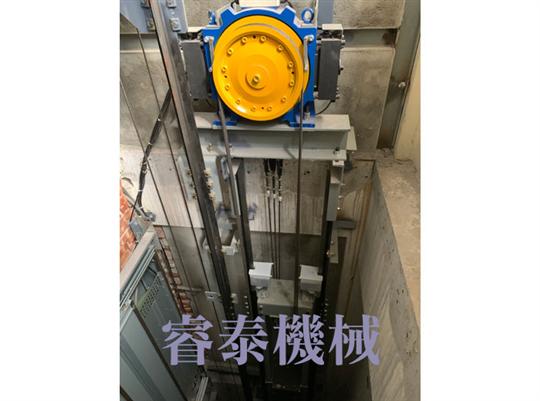 無機房牽引式電梯-16