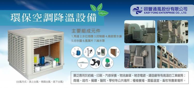 翊豐環保空調降溫設備 0800-588-929