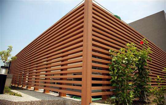 格柵, 圍籬│頂樓設計規劃