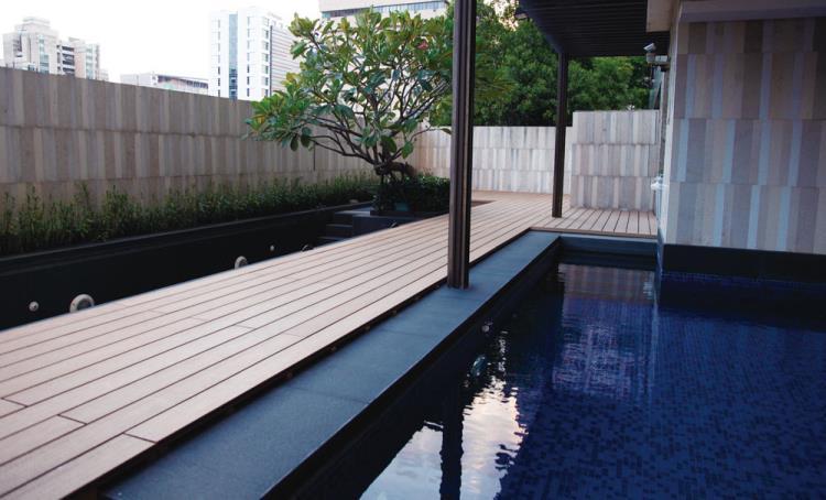 泳池平台-Composite Decking