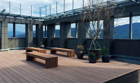木作椅 – Bench, Seat 頂樓設計規劃│平台