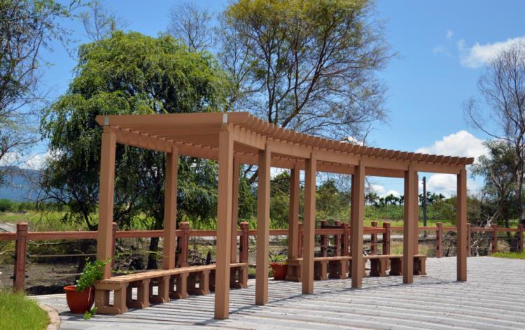 花架 – Flower Trellis 涼亭 – Pavilion, Pergola