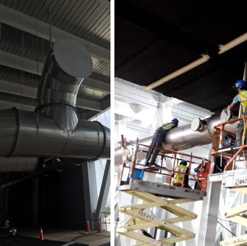 51- 製程風管安裝工程