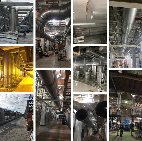 52- 製程排氣風管工程