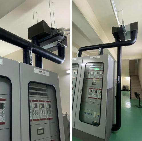 54- 變電機房降溫設備及管道工程