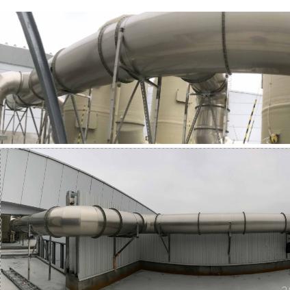 55- 頂樓製程排氣風管工程