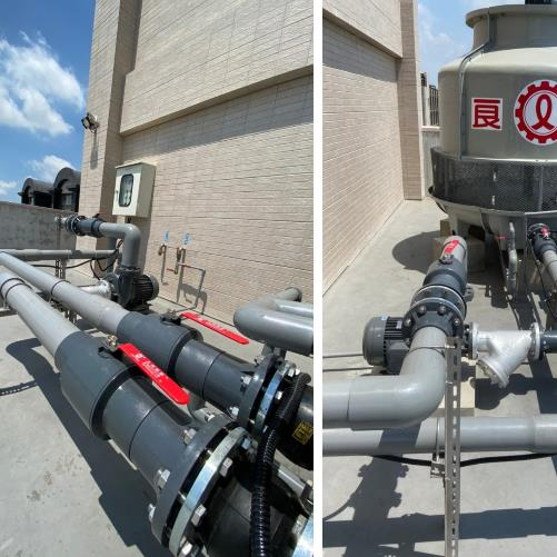 56- 冷卻水塔設備及配管配電工程