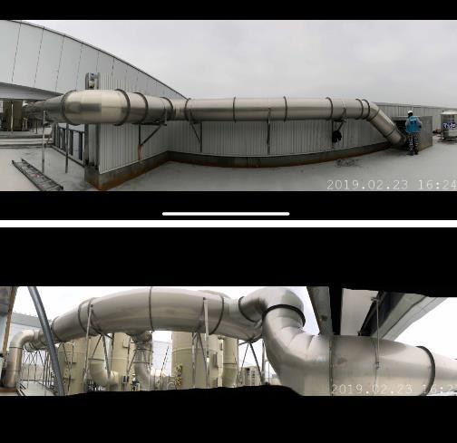 58- 頂樓製程排氣風管工程