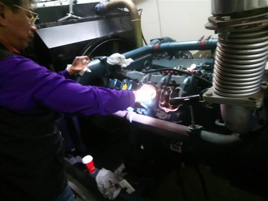 林口區社區大樓發電機故障檢修