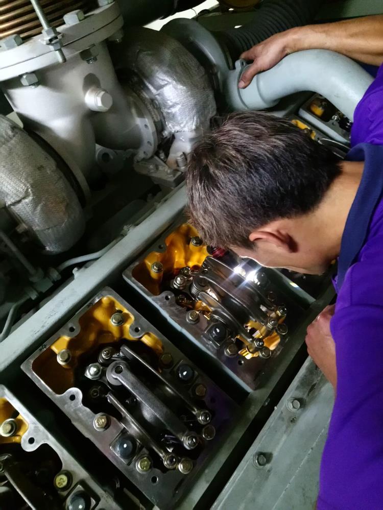 內湖區工廠發電機無法啟動維修工程