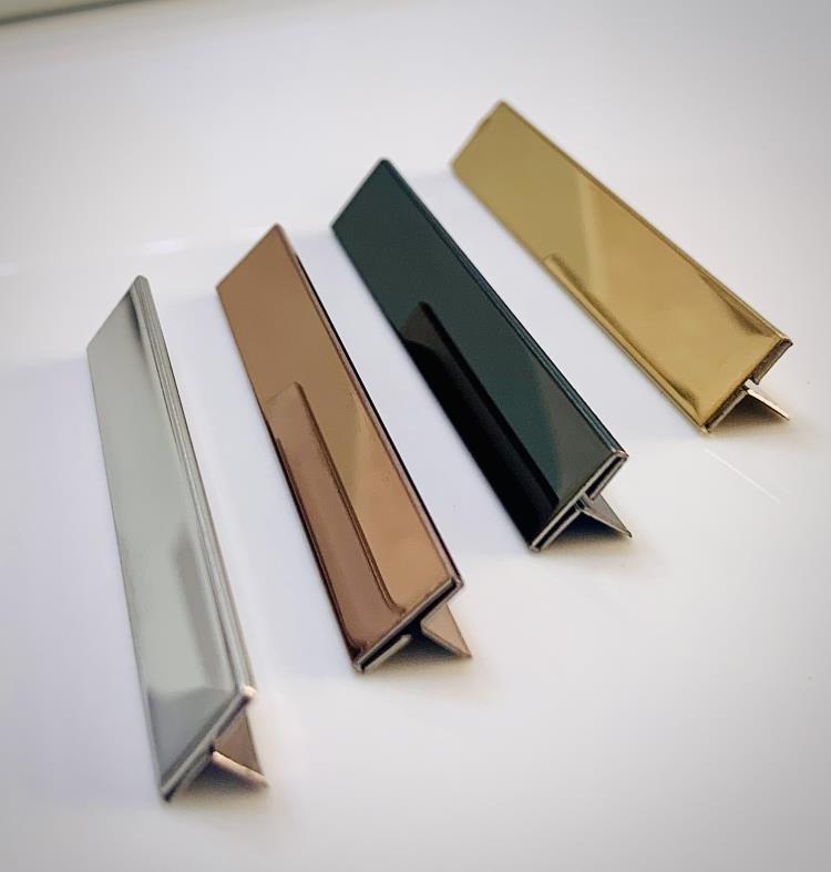 不銹鋼鍍鈦T型收邊條